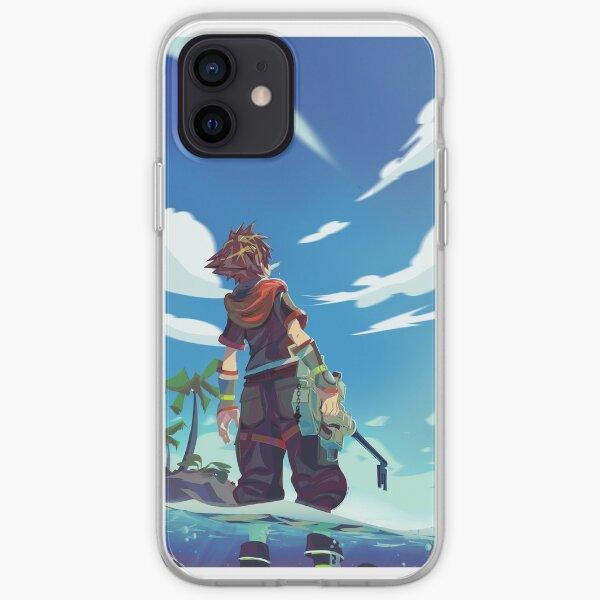 Kingdom Hearts 3 Sora iPhone Soft Case
