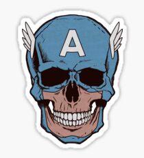 Captain Amerikilled Sticker