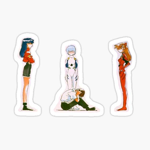 Trippy Evangelion Sticker