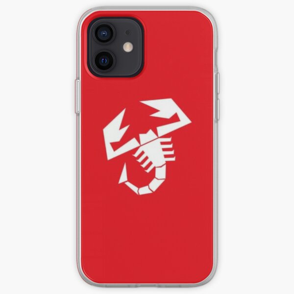 Abarth Red Logo Coque souple iPhone