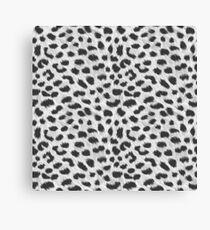 Cheap Grey Cheetah Designs!   Canvas Print