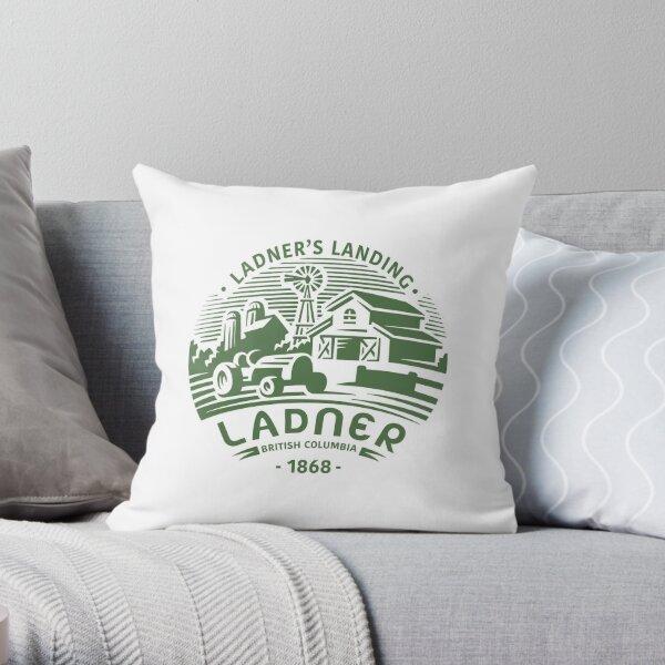 Ladner's Landing Throw Pillow