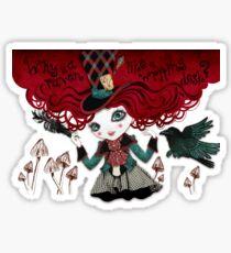 Mad Riddle Sticker