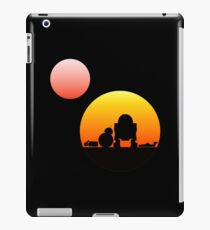 When Two Worlds Collide iPad Case/Skin