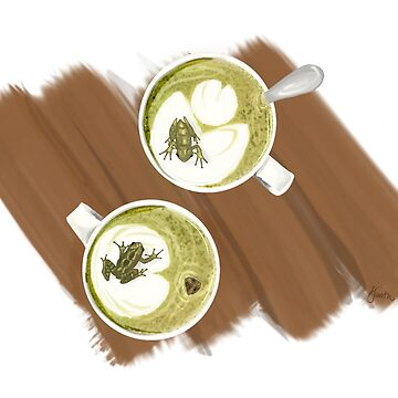 Green Frog Tea by ksshartel
