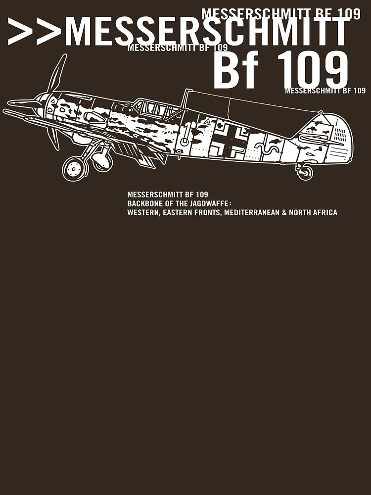 Messerschmitt BF 109 by b24flak