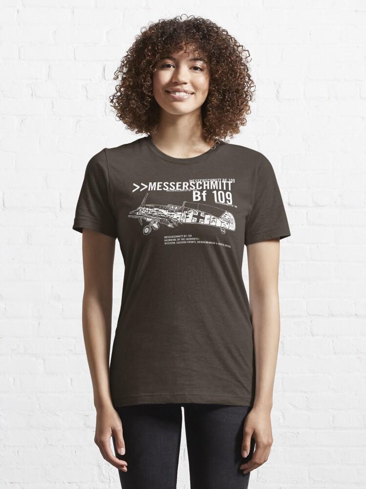 Alternate view of Messerschmitt BF 109 Essential T-Shirt