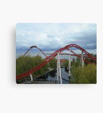 Maverick Roller Coaster Camelback Canvas Print