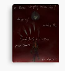 Is There Singing In The Void? Canvas Print