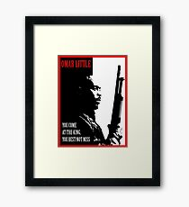 Don't Miss the King Framed Print
