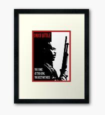 Don't Miss the King Framed Print