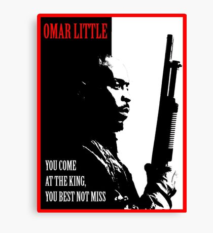 Don't Miss the King Canvas Print