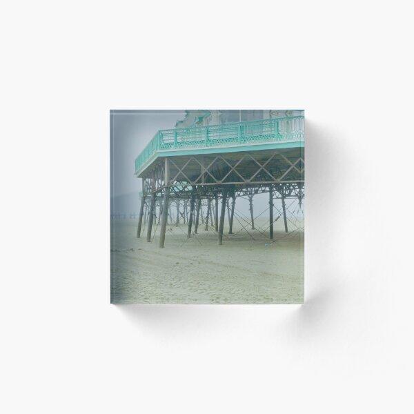 Coastal mist. Acrylic Block