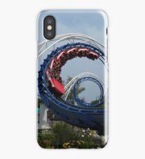 Corkscrewing Coaster iPhone Case
