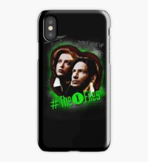 Don't Give Up iPhone Case/Skin
