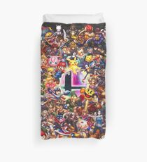 Smash Brothers Duvet Cover