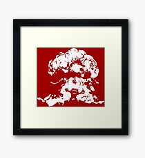 Ziggs Explosion Color Framed Print