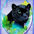 BLACK PANTHER and BLENDING JUNGLE by Lotacats