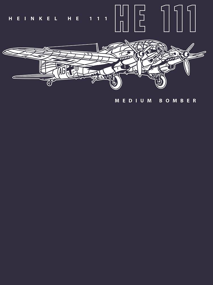 Heinkel HE 111 Bomber by b24flak