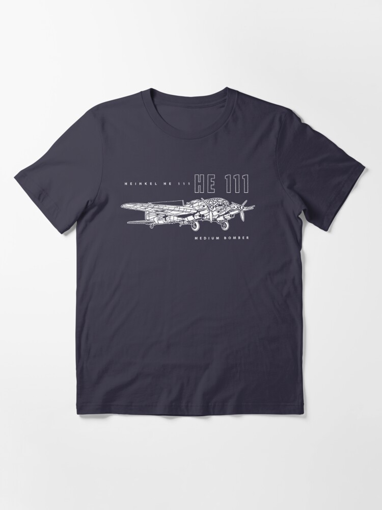Alternate view of Heinkel HE 111 Bomber Essential T-Shirt