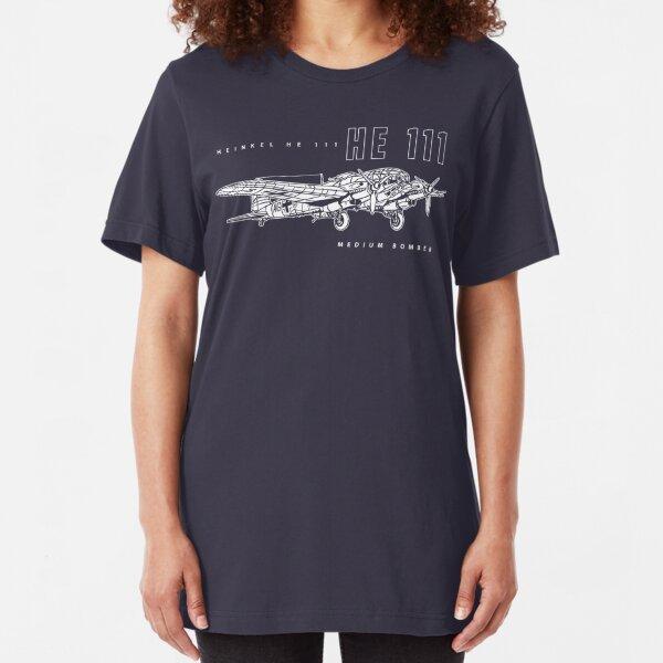 Heinkel HE 111 Bomber Slim Fit T-Shirt