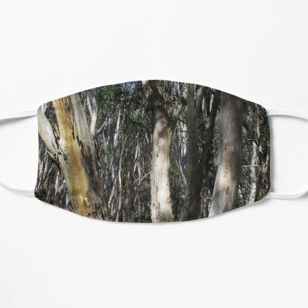 A Group Of Eucalypt Trees Flat Mask