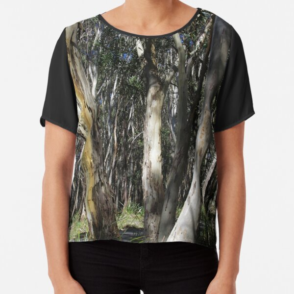A Group Of Eucalypt Trees Chiffon Top