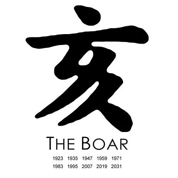 Year of the Boar by mbsgraphics