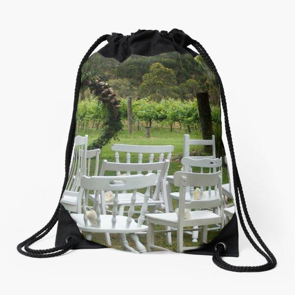 Winery Wedding - Adelaide wedding venue, Vineyard wedding Adelaide, Winery wedding SA Drawstring Bag