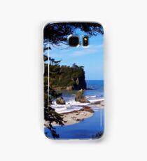 ruby beach, washington, usa landscape Samsung Galaxy Case/Skin