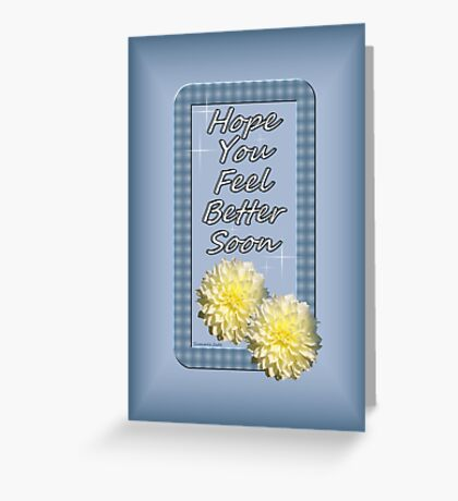 A Word of Comfort and a Wish Greeting Card