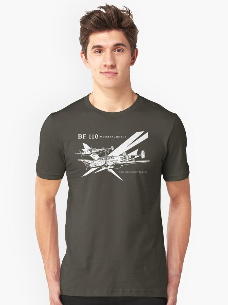 Alternate view of Messerschmitt BF 110 Slim Fit T-Shirt
