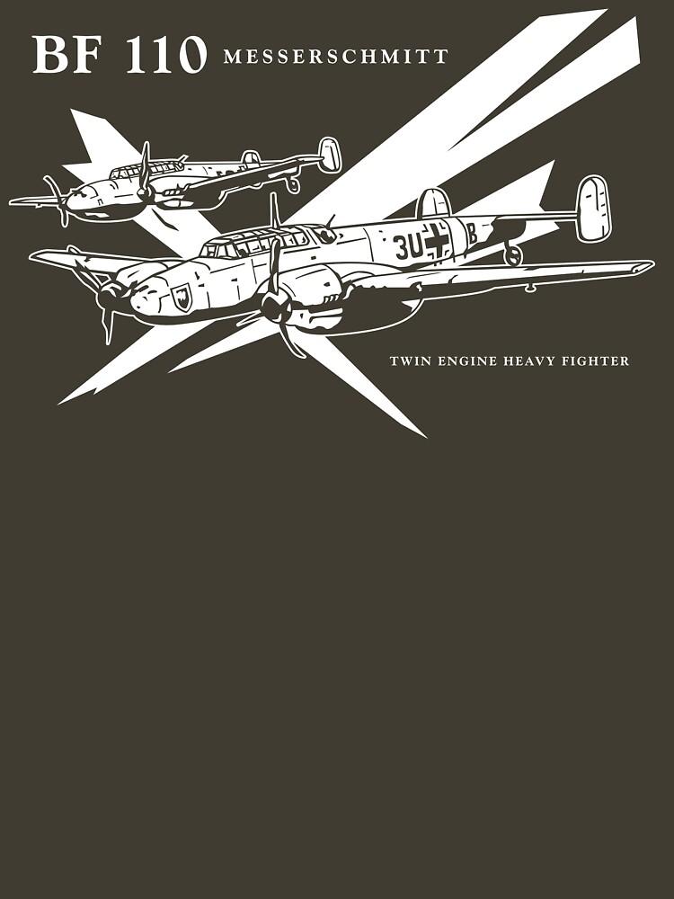 Messerschmitt BF 110 by b24flak