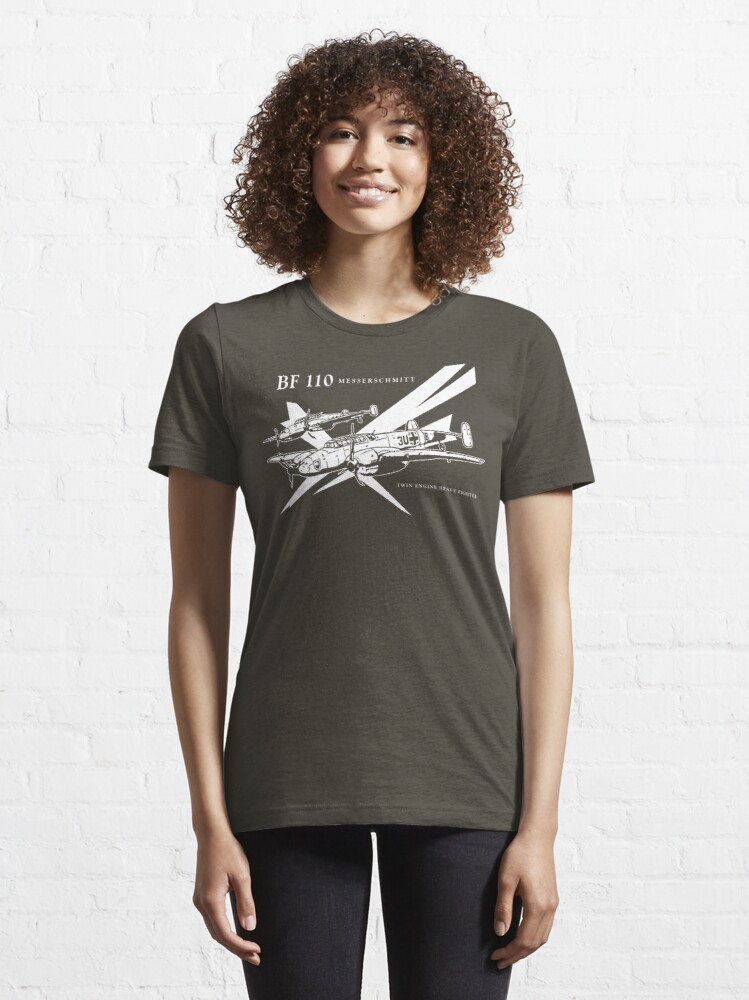 Alternate view of Messerschmitt BF 110 Essential T-Shirt