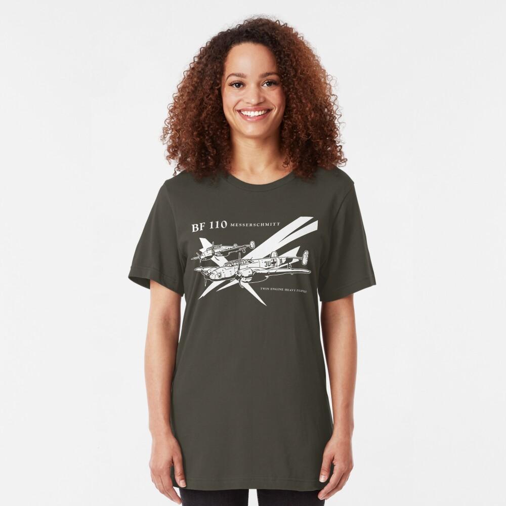 Messerschmitt BF 110 Slim Fit T-Shirt