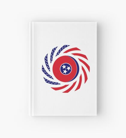 Tennessean Murican Patriot Flag Series Hardcover Journal