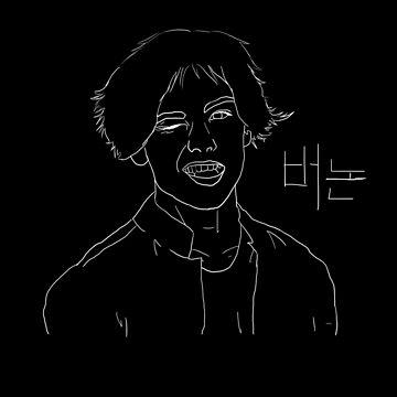 Hansol Chwe (Vernon from Seventeen) by starchildchamp
