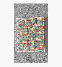 Knitted Art Photographic Print