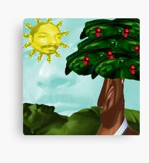 Everything in this picture is Snoop Dogg Canvas Print