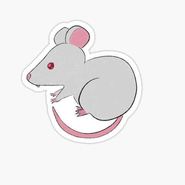 Gremy - Albino Rat Sticker