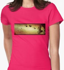 love in a breath... II Womens Fitted T-Shirt