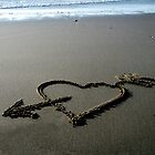 """I Heart The Beach"" by waddleudo"