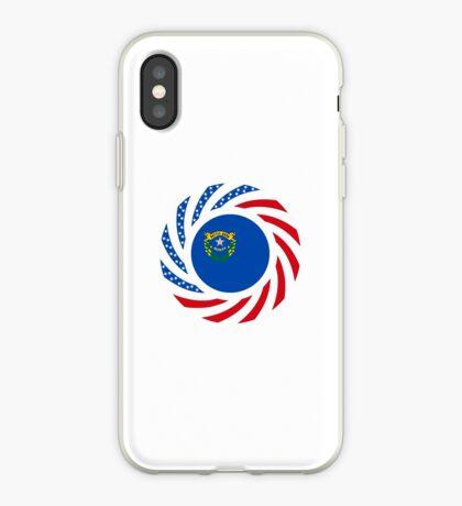 Nevadan Murican Patriot Flag Series iPhone Case
