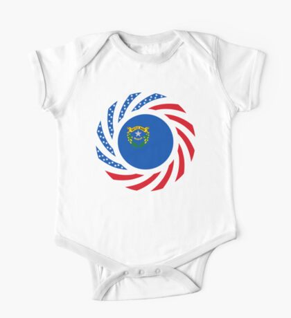 Nevadan Murican Patriot Flag Series Kids Clothes
