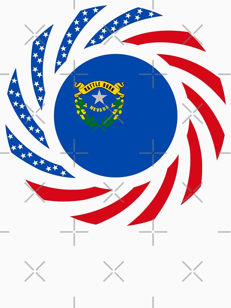 Nevadan Murican Patriot Flag Series by carbonfibreme