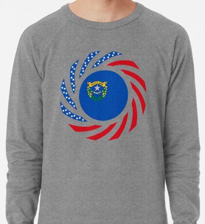 Nevadan Murican Patriot Flag Series Lightweight Sweatshirt