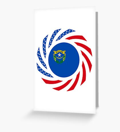 Nevadan Murican Patriot Flag Series Greeting Card