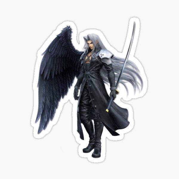 Sephiroth Smash Render Sticker
