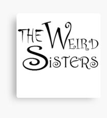 The Weird Sisters Canvas Print