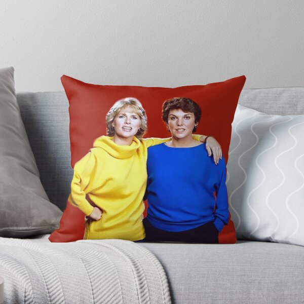 Cagney and Lacey Throw Pillow